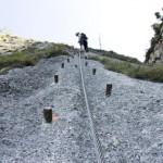 Klettersteig Mahdlgupf erfordert Kondition und Ausdauer