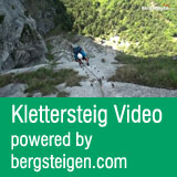 Klettersteig Video - powered by bergsteigen.com