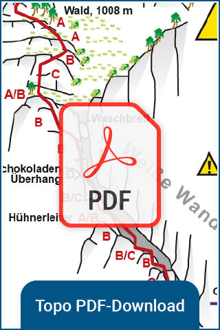 TOPO Download - Klettersteig Mahdlgupf